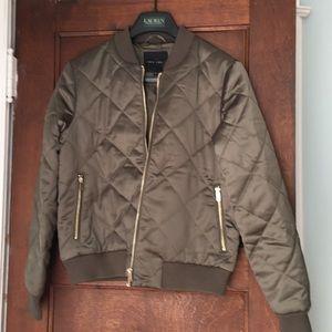New Look—Army green bomber jacket Sz. 12